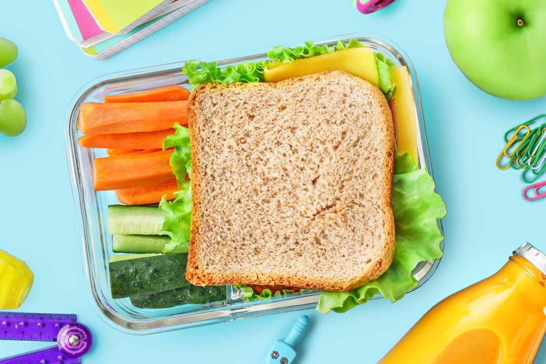 oral health school lunch ideas that are good for your teeth
